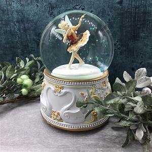 Swan Lake Ballerina Fairy Musical Snow Globe - Tutti Decor Ltd