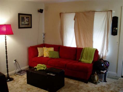 Small Living Room Decorating Ideas With Red Sofa Home Combo