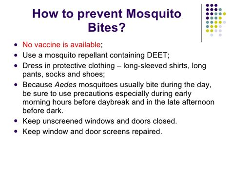 how to repell mosquitoes dengue prevention
