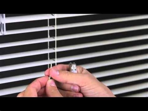How To Shorten Mini Blinds  Levolor Aluminum And Vinyl
