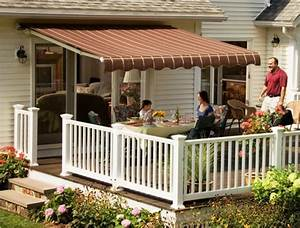 Sunsetter Motorized Xl And Xl Pro Retractable Deck Awnings