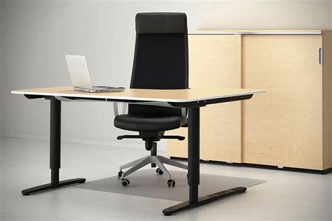 bekant sit stand desk ikea bekant sit stand desks hiconsumption