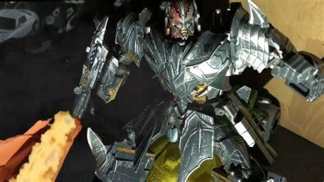 Transformers Tlk Megatron & Barricade Stop-motion
