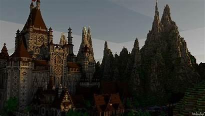 Minecraft Castle Deviantart Backgrounds Medieval Wallpapers 1080p