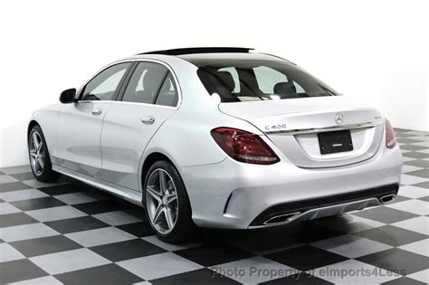 2015 Used Mercedes-benz Certified C400 4matic Amg Sport