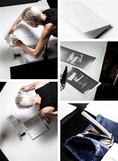 graphic design bureau thermo sensitive stationary design by bureau rabensteiner