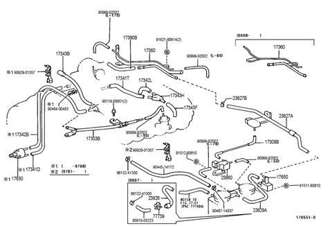2001 4runner 3 4l Engine Diagram by 2003 4runner Power Steering Parts Diagram