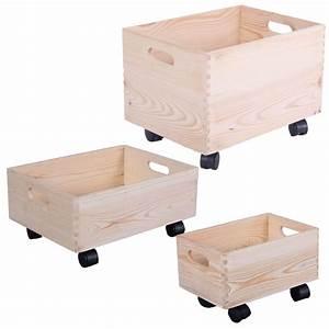 Holzkiste Mit Deckel Ikea : holzkiste auf rollen aufbewahrungsbox holz kinderzimmer holzkasten rollbox box ebay ~ A.2002-acura-tl-radio.info Haus und Dekorationen
