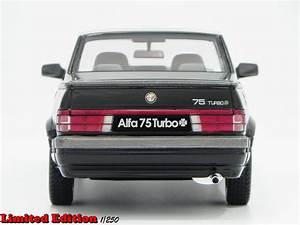 Alfa Romeo Dijon : alfa romeo 75 1 8 turbo q v lm087a nero laudoracing models modellini auto 1 18 comprare ~ Gottalentnigeria.com Avis de Voitures