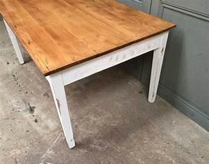 Table Ancienne De Ferme : ancienne table de ferme ref3 ~ Dode.kayakingforconservation.com Idées de Décoration