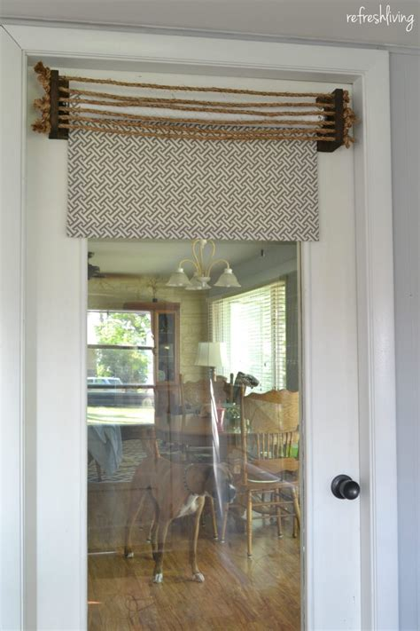 Fabric Shades by Diy Fabric Roller Shades Refresh Living