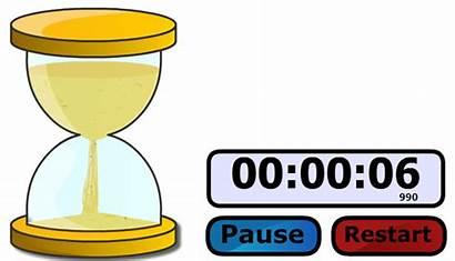 Timer Countdown Clipart Sand Clock Clip Cliparts