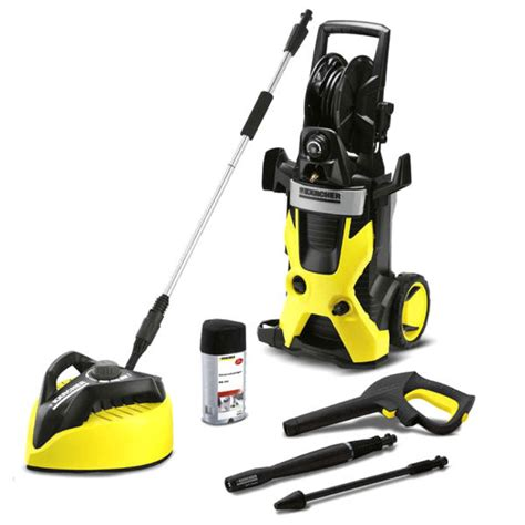 karcher k5 pressure washer with t400 patio cleaner