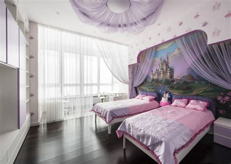 Purple Kids Room  Interior Design Ideas
