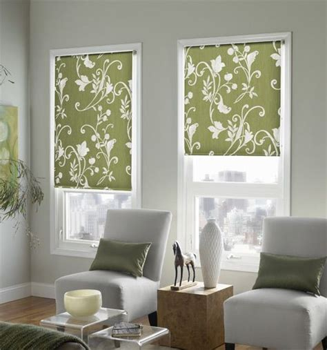 Colored Window Blinds Shades by Expressions Roller Shades Patterns Traditional