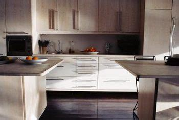 bleached oak kitchen cabinets can you restain pickled wood cabinets home guides sf gate 4791