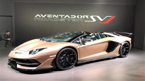 New Lamborghini Aventador Svj 2019