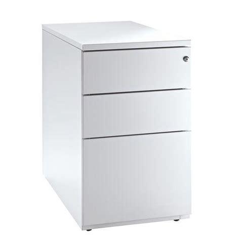 caisson de bureau en bois blanc