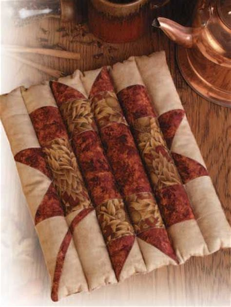 quilted rice filled trivet   Sewing Projects   Pinterest