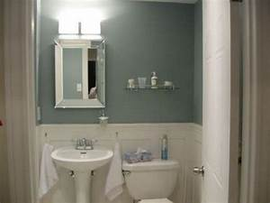small windowless bathroom interiors pinterest paint With colors to paint a small bathroom