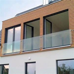 Glas brustung nach mass glasprofi24 for Französischer balkon mit kalk für garten