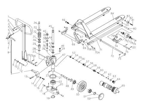 pallet jack parts diagram periodic diagrams science