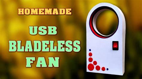 How Make Bladeless Fan Home Diy Usb Homemade Dyson