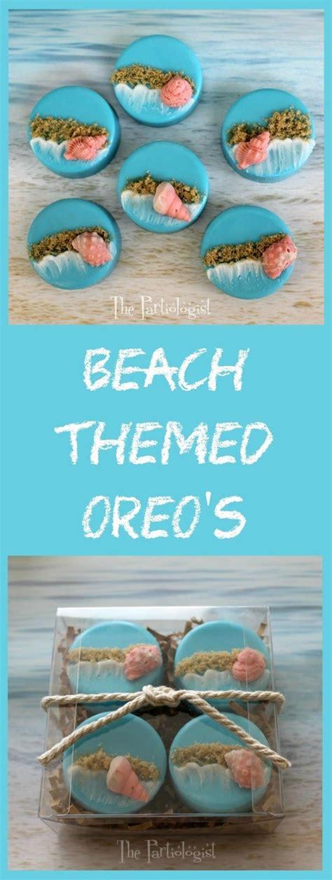 beach themed cupcakes ideas  pinterest beach
