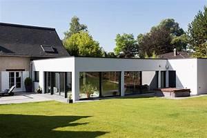 Magnifique extension bois avec piscine interieure for Maison en forme de u 7 magnifique extension bois avec piscine interieure