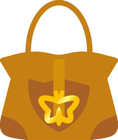 onlinelabels clip art leather handbag purse symmetrical