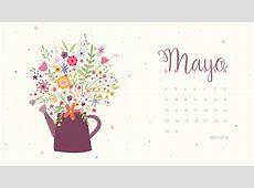 Calendario descargable Mayo 2016 • Silo Creativo