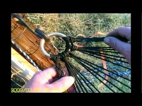 How To Make A Paracord Hammock by Cool Paracord Stuff 33 Paracord Hammock Progress