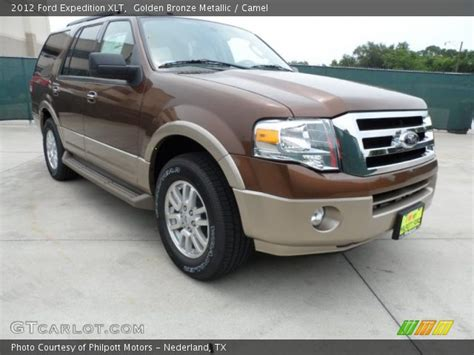 2012 Ford Expedition Xlt by Golden Bronze Metallic 2012 Ford Expedition Xlt Camel