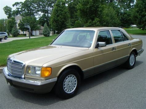 how to learn everything about cars 1986 mercedes benz s class interior lighting mercedes benz 500 series sedan 1986 gold for sale wdbca39d9ga224050 mercedes benz 560sel 1986