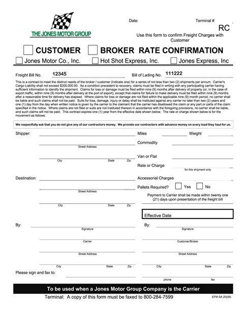 Straight, fedex, generic,ups if you require bill of lading, you can simply download the bill of lading templates from our main the carrier who initially issued the bill. Jones Motor Group Bill of Lading - Fill and Sign Printable ...