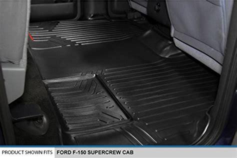 smartliner floor mats  row liner set black    ford   supercrew cab buy