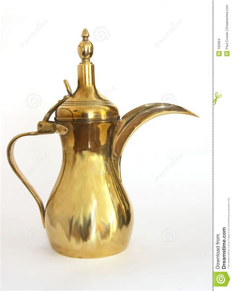 Arabic Coffee Pot Stock Images   Image: 182664