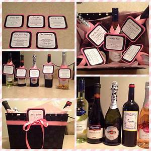 17 best images about diy wedding wine basket ideas on With wine for a wedding gift