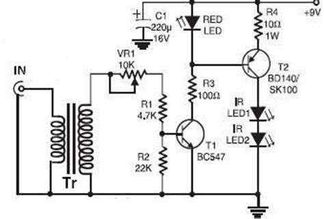 Infrared Circuit Page Light Laser Led Circuits Next