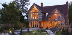 a frame house designs living in an oak frame home self build co uk