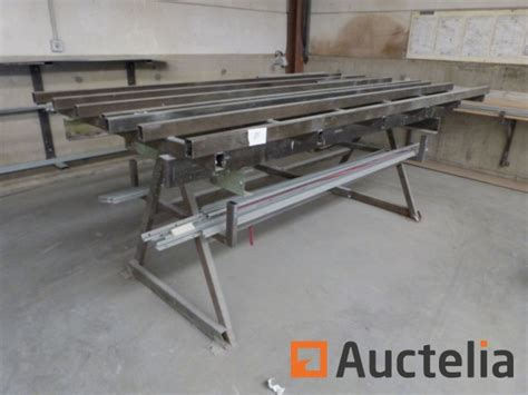 table de montage ossature bois table de soudure ou de montage