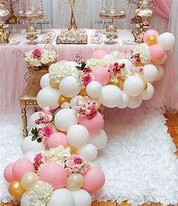 Decora tu fiesta con globos y flores, ¡muy elegante ...