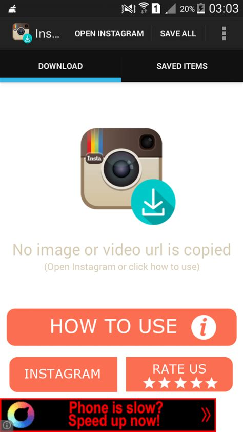 buy instagram downloader social networking  android