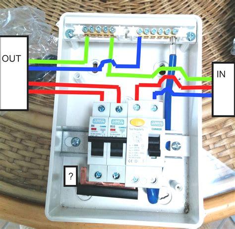 Caravan Consumer Unit Wiring Diagram Somurich