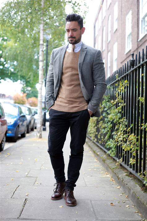 smart casual workwear  autumn mens style blog