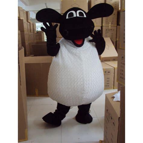 timmy time shaun  sheep adult mascot costume hire