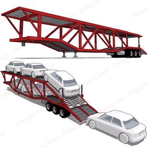 Enclosed Small Auto Transport Truck Trailer,car Carrier