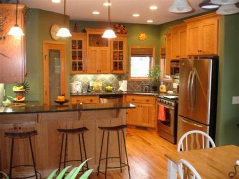 best paint colors for honey oak cabinets honey oak kitchen cabinets with black countertops and