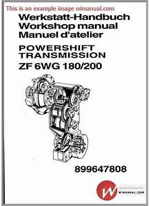 Zf As Tronic Trucks 1327 751 102b 2007 Repair Manual