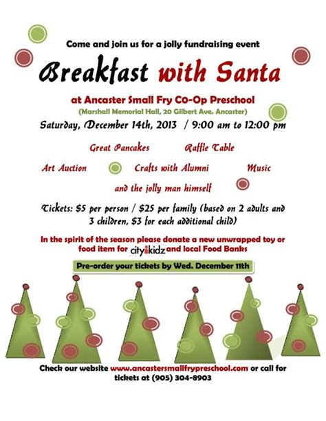 breakfast with santa ancaster small fry preschool 876 | img244285284bc9ac31e8